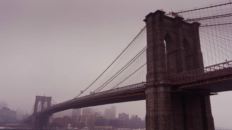 Two Bridges: Under Brooklyn Bridge