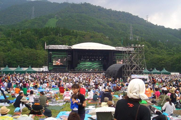 Fuji Rock Festival 2005 | © *pb*/Flickr