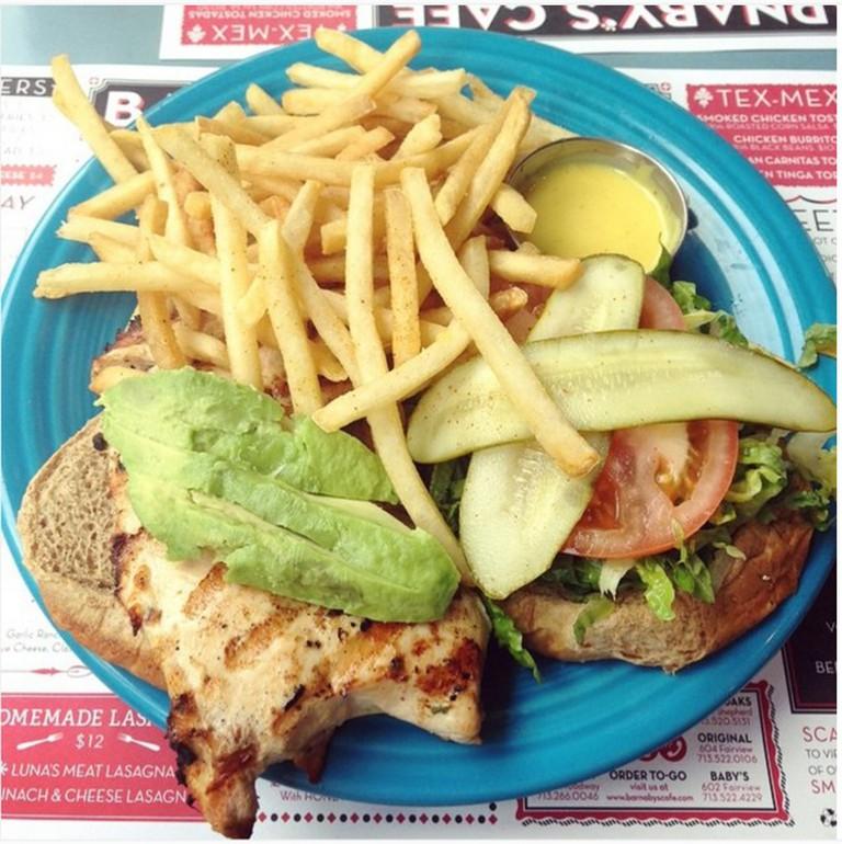 Grilled Chicken Sandwich | © texasfoodgawker