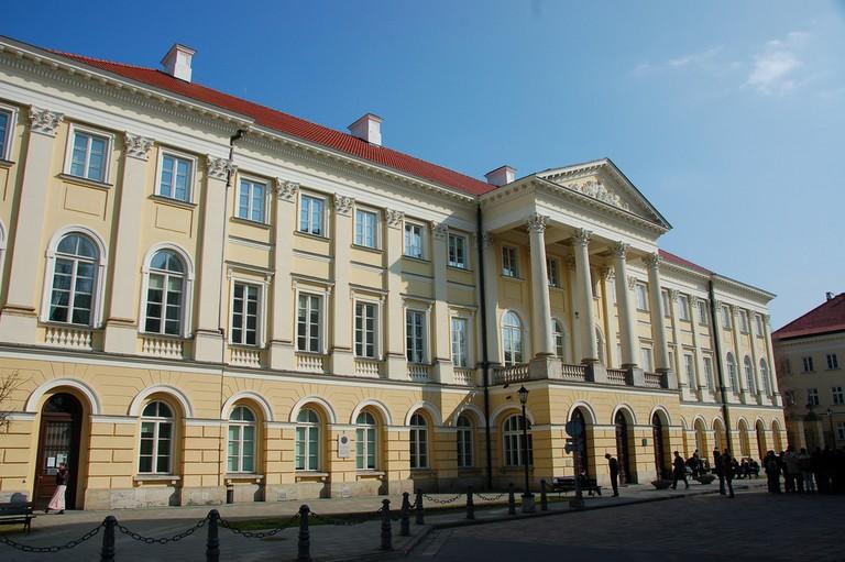 Krakowskie Przedmieście is arguably Warsaw's most delightful street to walk along