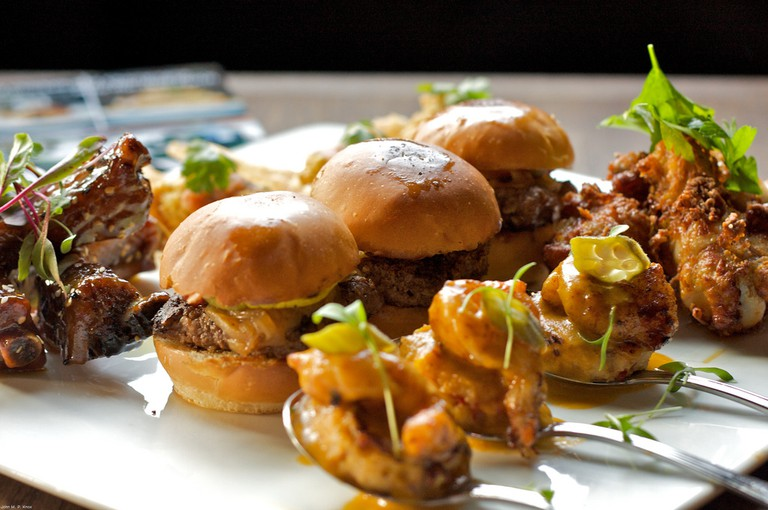 Slider sampler © John M. P. Knox/Flickr