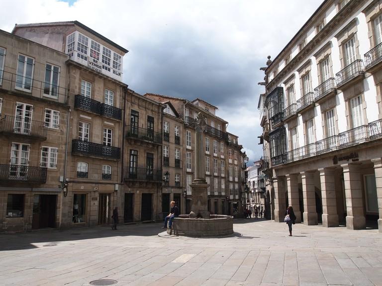 Plaza Cervantes, Santiago de Compostela | © Davidh820/WikiCommons