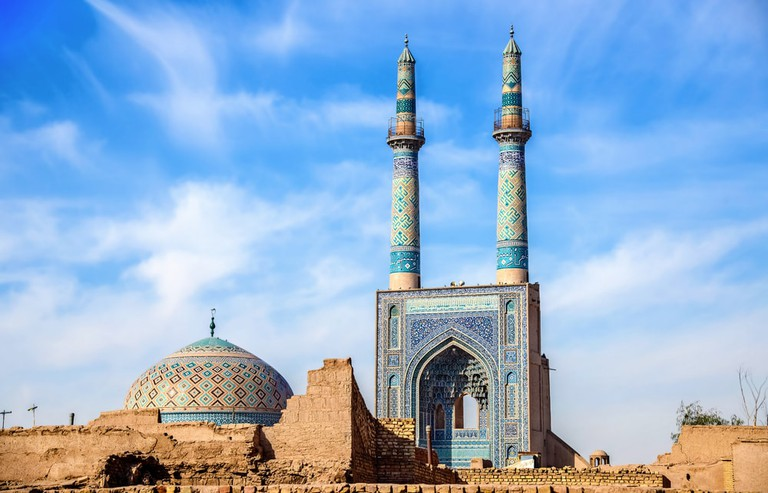 Jame Mosque of Yazd in Iran