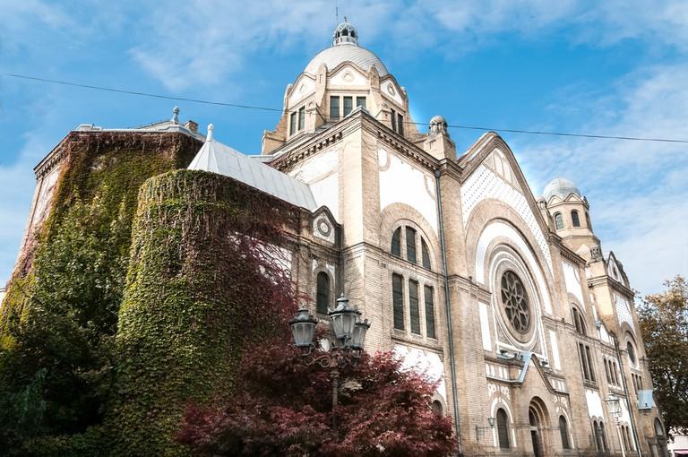 Novi Sad's majestic synagogue
