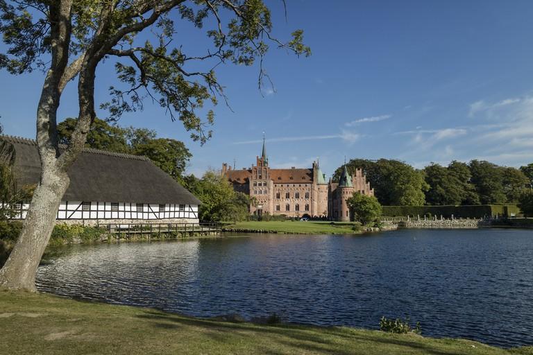 Castle Egeskov Slot in Funen, Denmark © picturepartners / Shutterstock