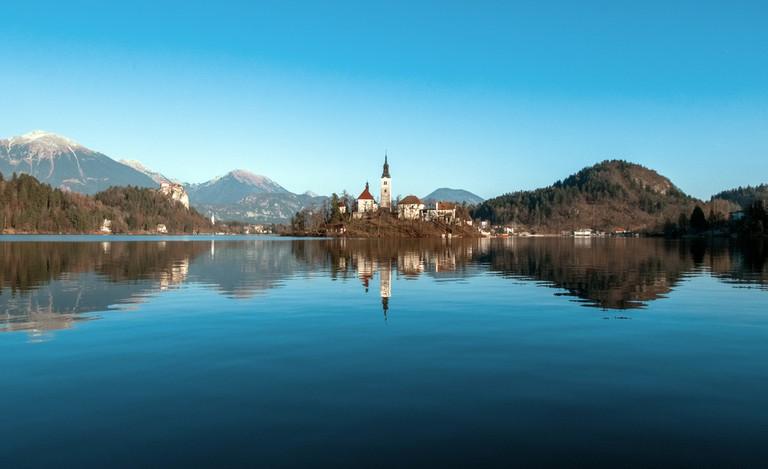 Bled lake isle (Slovenia)