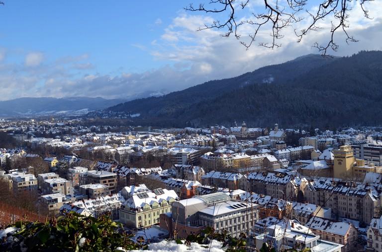 Freiburg in winter ©Uellue / Shutterstock