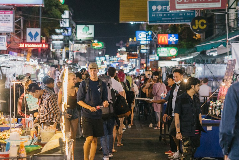 Thailand-Bangkok-KhoaSanRoadNighttime-103