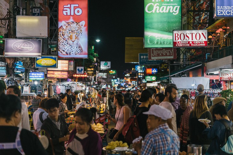 Bangkok's backpacker hub of Khao San Road