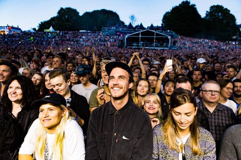 The xx concert during Øya 17 | © Helge Brekke, Courtesy of Øyafestivalen