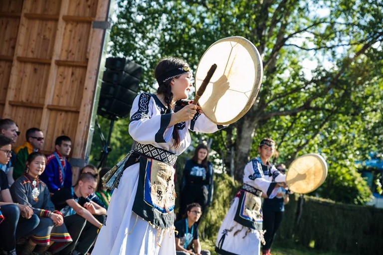Traditional music in Riddu Riđđu Festival | © Eirin Roseneng, Courtesy of Riddu Riđđu Festival
