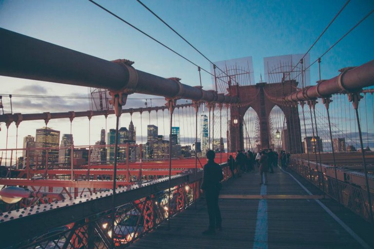 Brooklyn Bridge|©Anthony Delanoix/StockSnap
