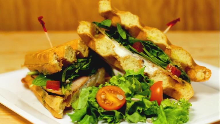 Waffle sandwich © manray3/Flickr