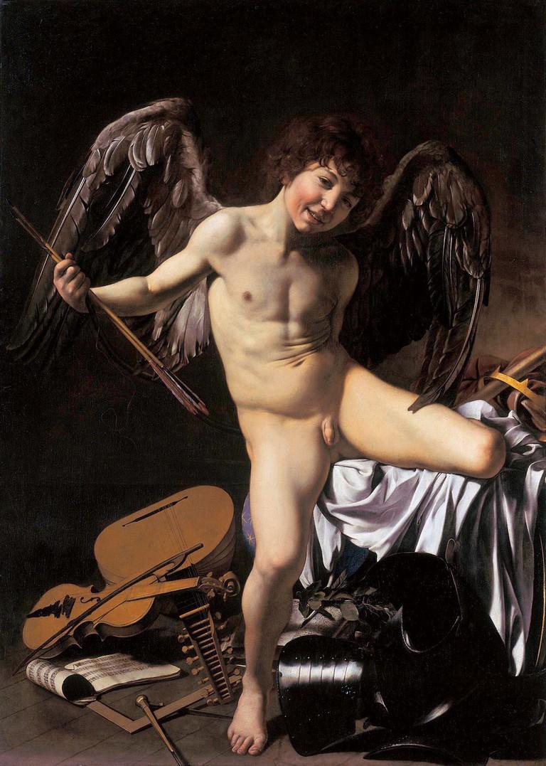Amor Vincet Omnia | © Caravaggio [Public domain]/Wikimedia Commons