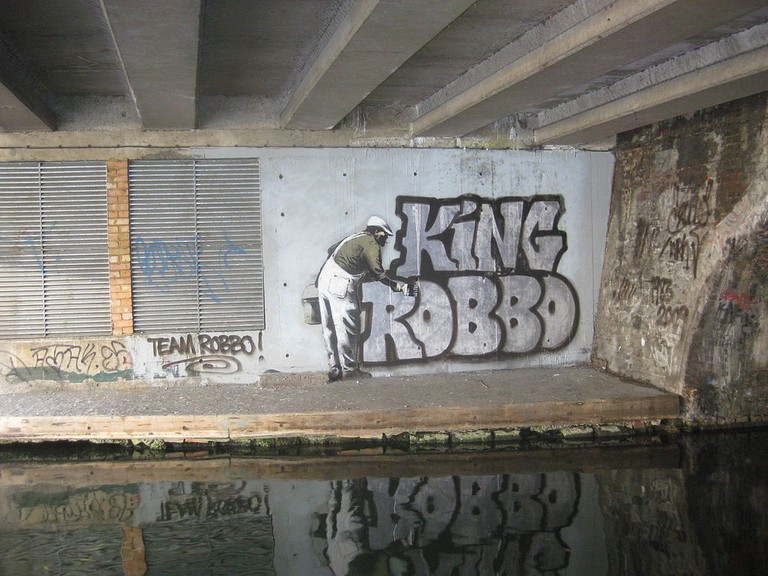 King Robbo One-Ups Banksy