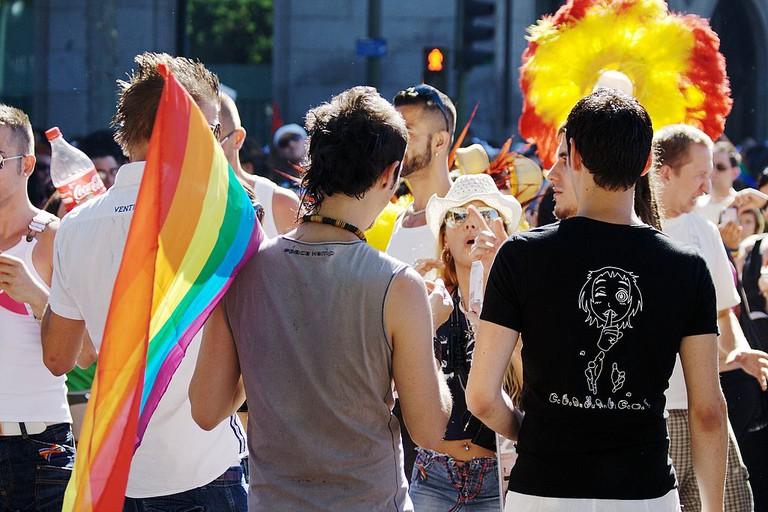 LGBT Pride Parade in Madrid (Spain) 2008 | © Roberto Gordo Saez/ Wikimedia Commons