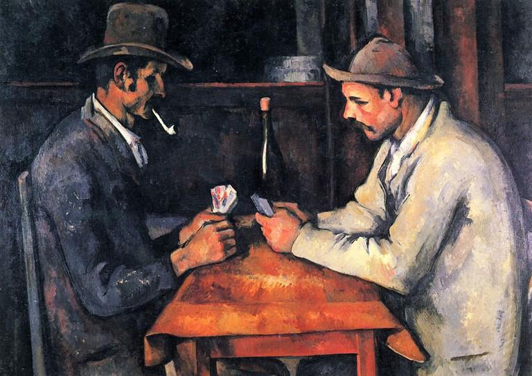 Paul Cézanne, The Card Players, 1892-93 | © Paul Cézanne/WikiCommons