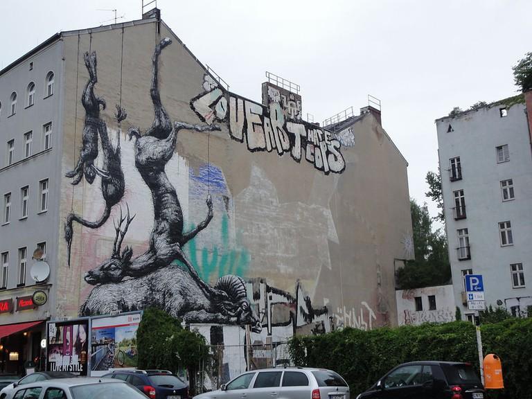Street Art in Kreuzberg | © Dipsey/WikiCommons