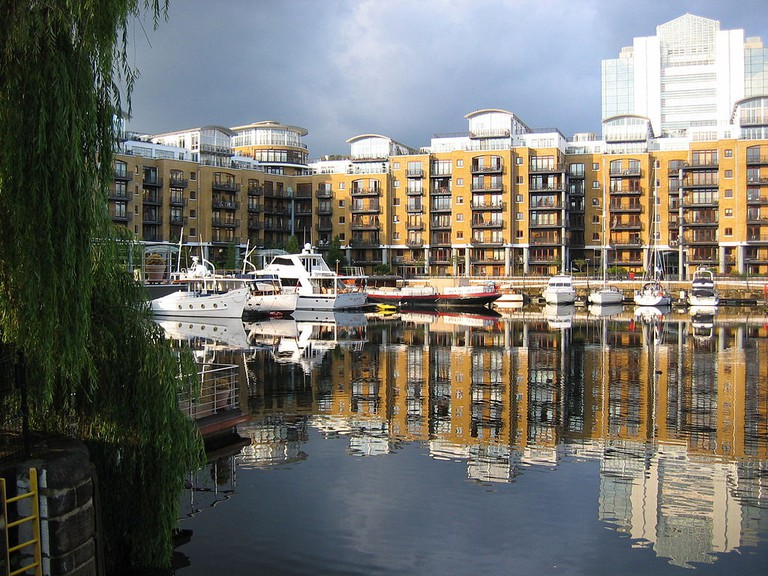 The City Quay Residential Development in St Katherine Docks