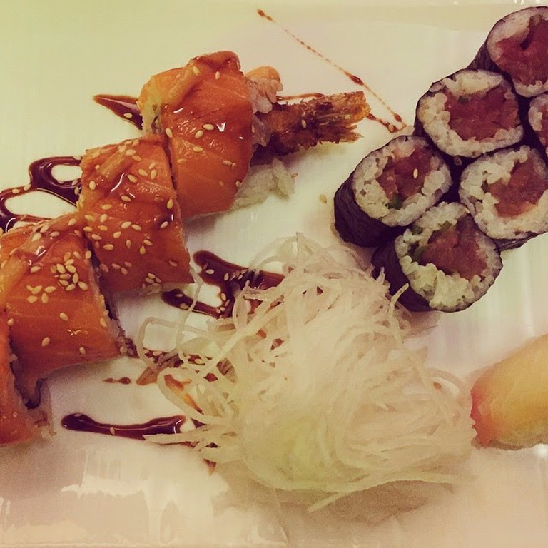 Sushi at Mikoto Prenzlauer Berg