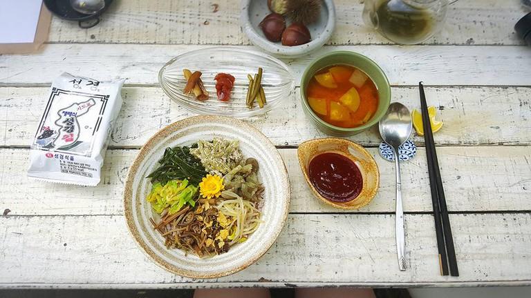 Vegan Meal at Nayuta Cafe| Courtesy of Nayuta Cafe