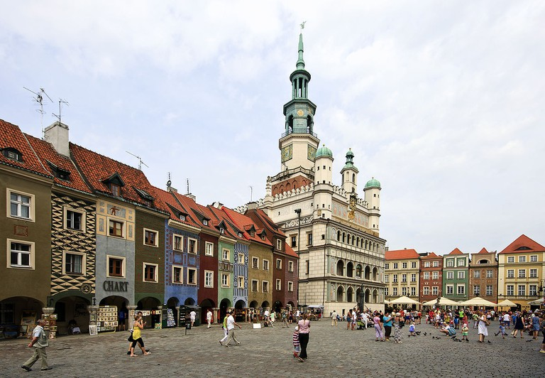 Poznań Old Town Square | © David Castor/WikiCommons