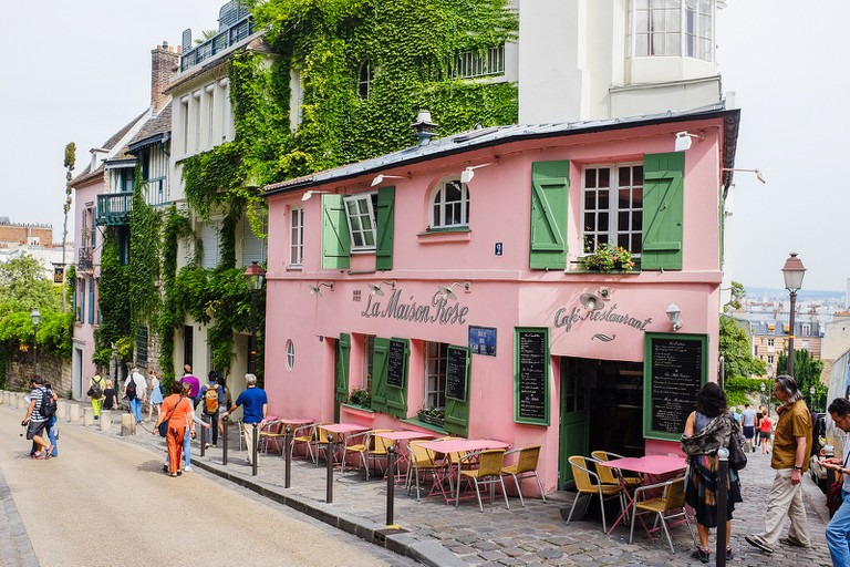 La Maison Rose, Montmartre   © Christophe Laigle/Flickr