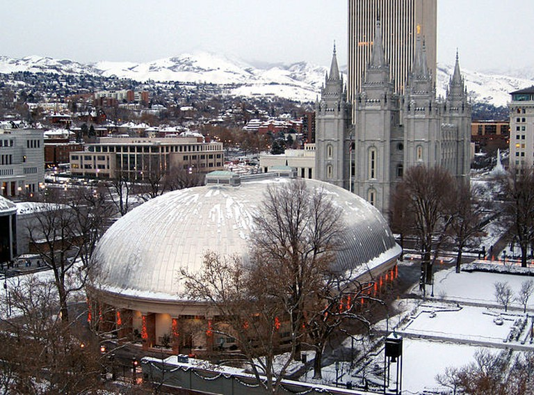 Tabernacle on Temple Square