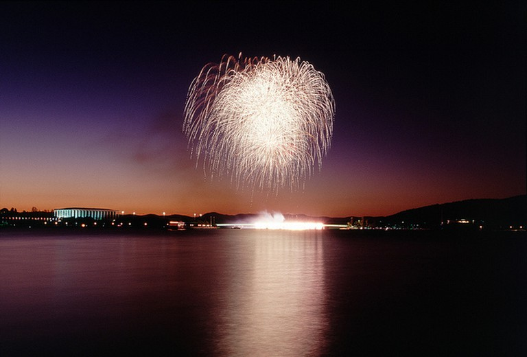 Fireworks in Canberra I © Nicholas Cull/Flickr