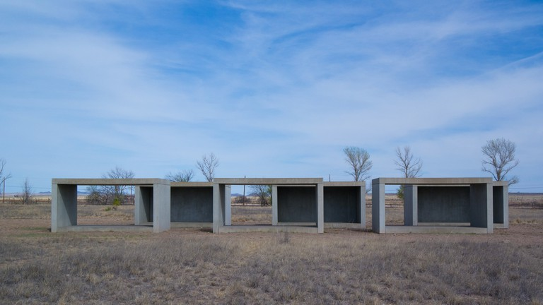 Marfa Donald Judd Concrete Art © Nan Palmero | Flickr