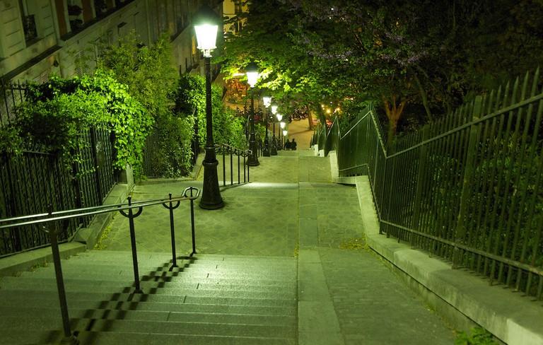 Stairway, Montmartre   © Emilio del Prado/Flickr