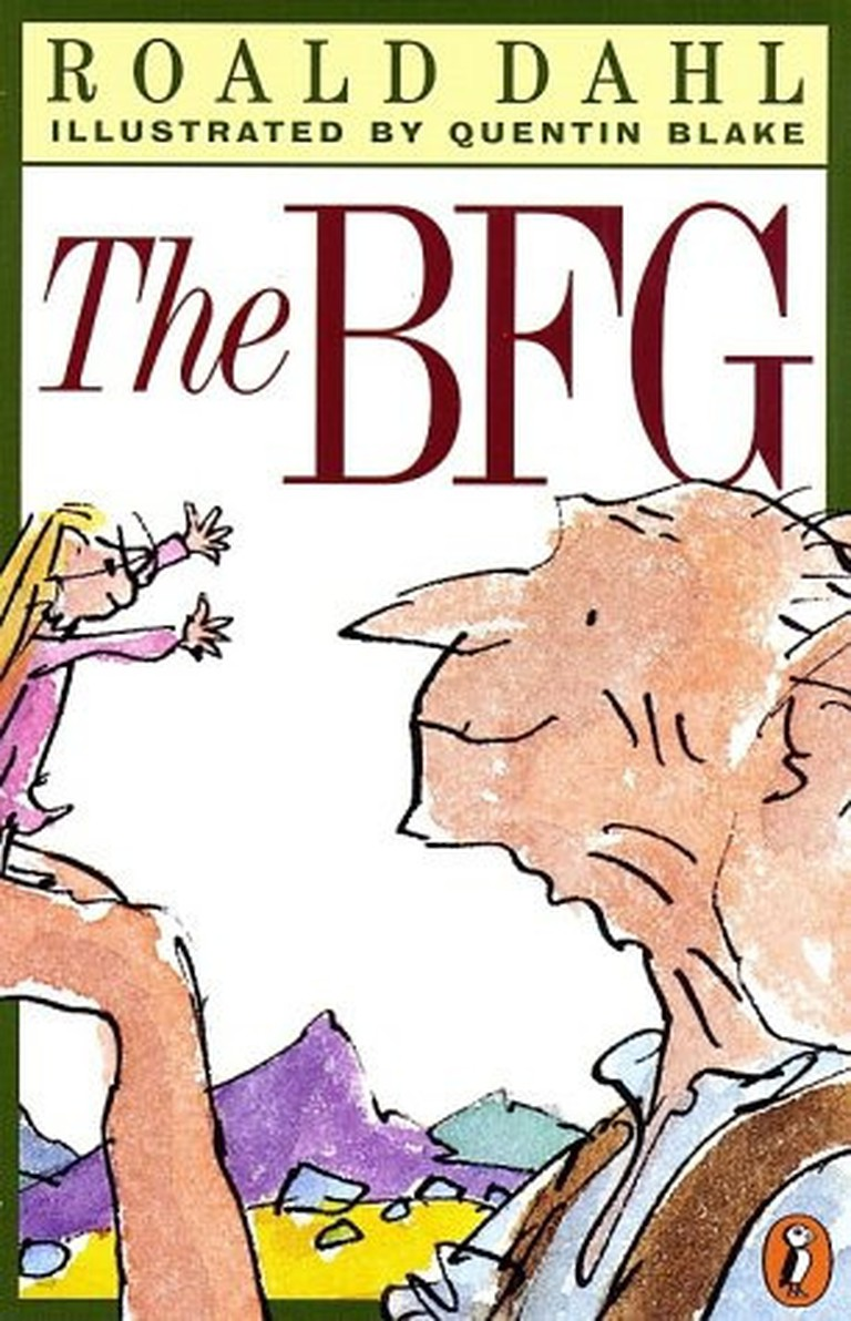 The BFG book cover by Roal Dahl illustrated by Quentin Blake| Flickr