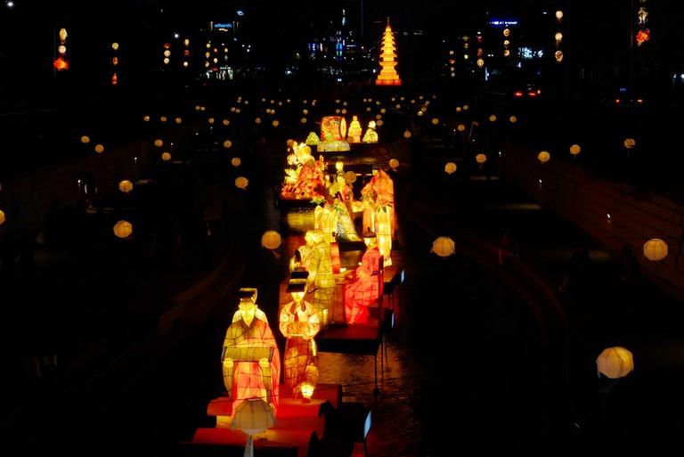 Lotus Lantern Festival| © travel oriented/Flickr