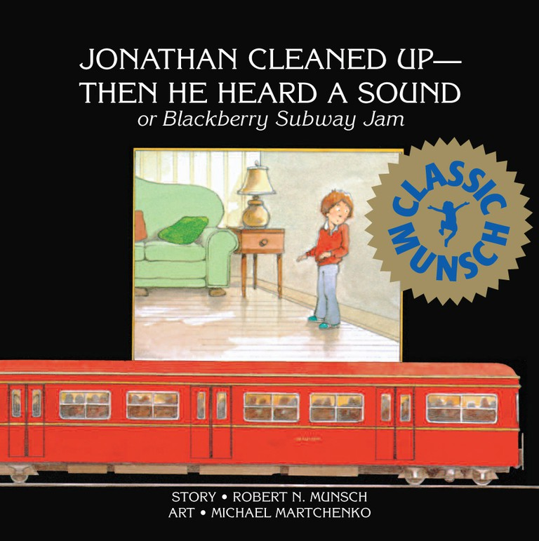 Jonathan Cleaned Up © Annick Press