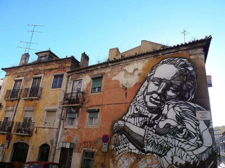 C215 in Lisbon, Portugal | © Jeanne Menj/Flickr
