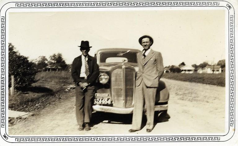 vintage car, Houston, Texas, 1930s | © Richard/ Flickr