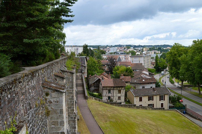 Limoges from cathedral gardens © Matt Brown/Flickr