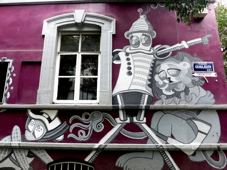 Street art, Calle Guanajuato, Roma © Angélica Portales/Flickr