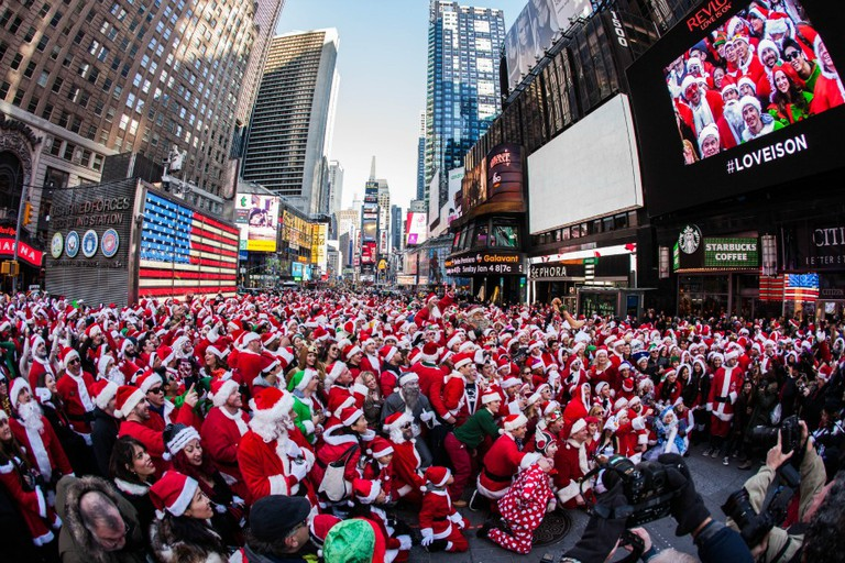 Santacon 2014 New York City