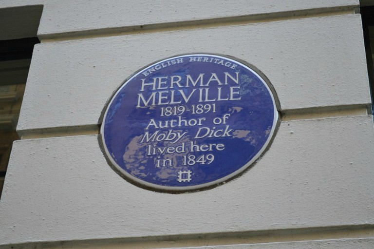 Herman Melville plaque