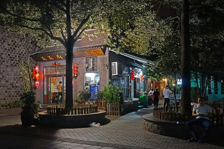 Le quartier de Tanhualin (Wuhan, Chine)©Jean-Pierre Dalbéra/Flickr