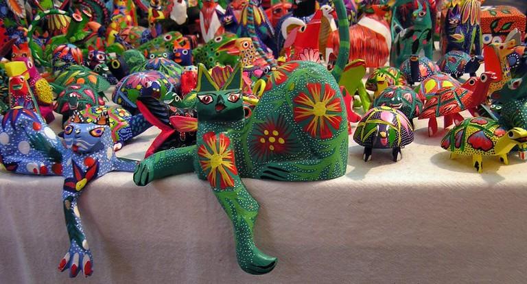 Alebrijes © Angélica Portales/Flickr