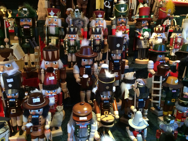 Nutcrackers sold at Hoffmann | © Benita Gingerella