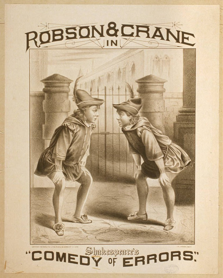 "Robson & Crane in Shakespeare's ""Comedy of Errors""