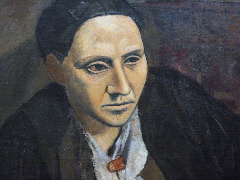 Picasso, Gertrude Stein (detail), 1906