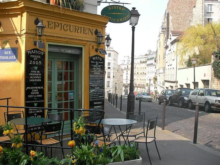 L'Epicurien, Montmartre   © Cate Sevilla/Flickr