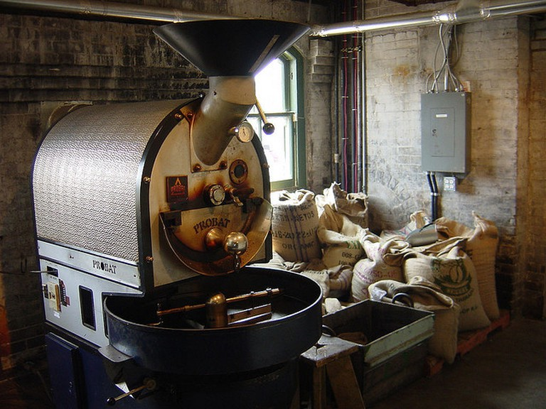 Coffee Roaster| © Aaron Gustafson/Flickr