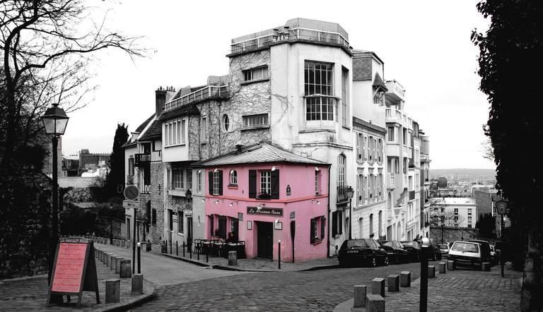 La Maison Rose, Montmartre   © charmar/Flickr