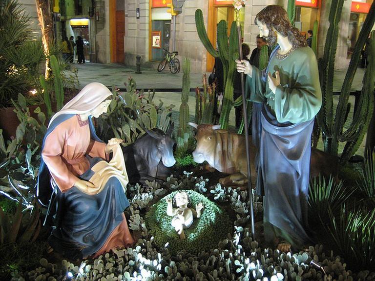 Nativity Scene at Plaça Sant Jaume | © Carquinyol / Flickr
