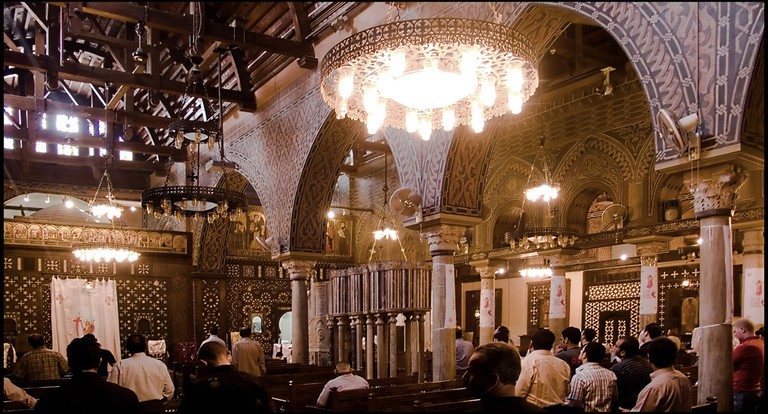 The interior of the Hanging Church | © Guillén Pérez/Flickr